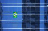 brazil flag during fifa 2006 poster