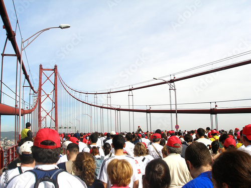 running the bridge marathon