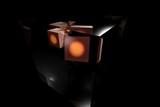 robot cubes poster