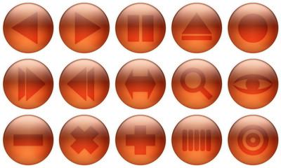 glass button set 2