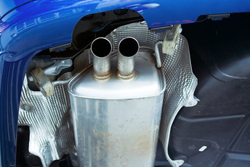 exhaust system muffler