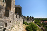 carcassonne fortress poster