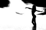 monochrome nude poster