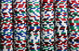 stacks of casino chips poster