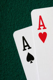 close-up of pocket aces poster
