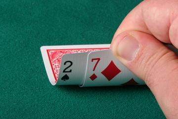 the worst hand in texas holdem poker