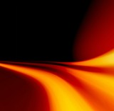 flame abstract poster