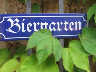 biergarten.