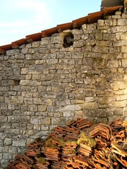 mur de maison