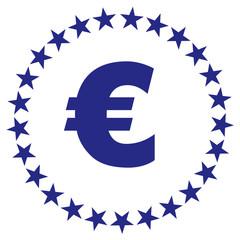 euro bleu