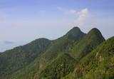 mountain peaks-horizontal format poster