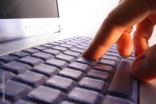 makro/nahaufnahme laptop/notebook