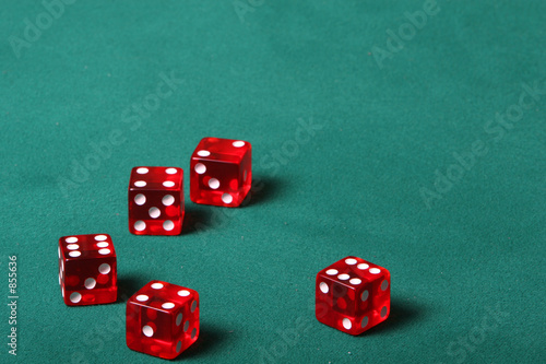 poster of five dices