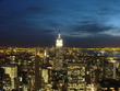 new york / manhattan bei nacht