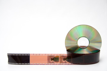 35 mm film and disk