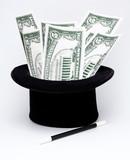 money by magic art poster