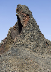 volcanic outcrop