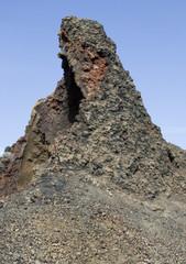 volcanic outcrop