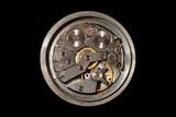 mechanical clock poster