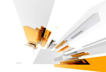 abstract elements straight