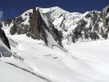 panorama, mont blanc poster