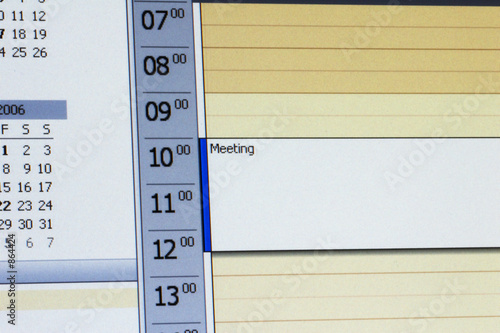 canvas print picture outlook kalender