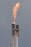 gas flare poster