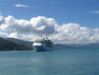 cruise ship on caribbean