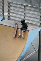 junior skateboarder