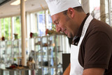 Fototapety italian chef