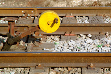 shunting switch of railway
