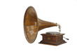 small portable phonograph