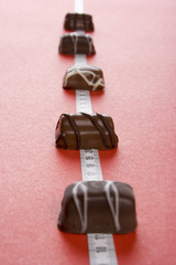 some of chocolates and the measure