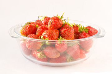 sunny strawberries
