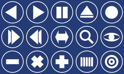 web buttons sets