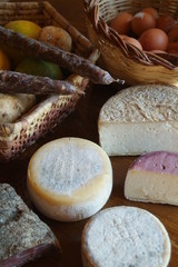 fromages et charcuterie