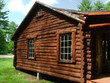 log cabin side