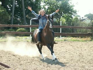 horse-man