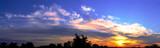 panorama sonnenaufgang poster