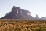 ranch, near monument valley poster
