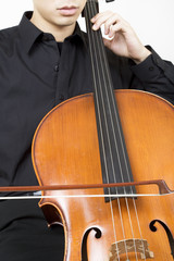 cellist bowing 3
