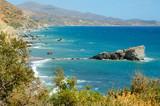 south coast of crete, greece poster