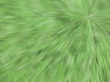 green pixel explosion poster
