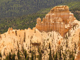 rock formation in bryce canyon poster