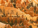 bryce canyon distant trail poster
