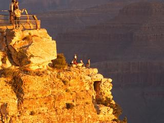 grand canyon sunrise watchers