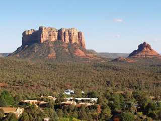 sedona, chapel view