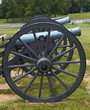civil war cannons at antietam battlefield