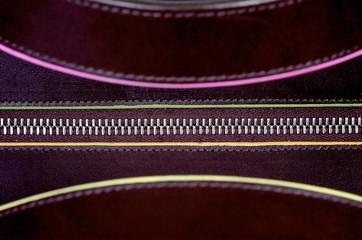 close up of a zip fastener