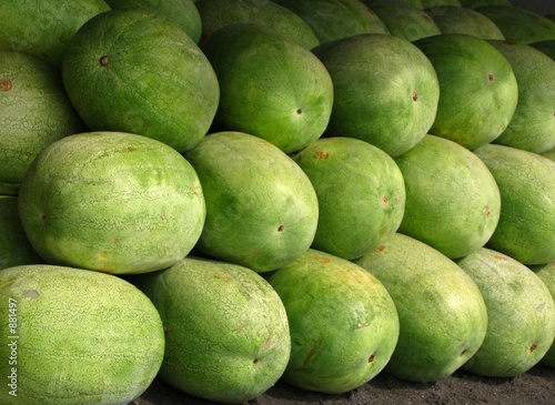 large heavy  watermelons